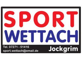 Werbebanner Sport Wettach